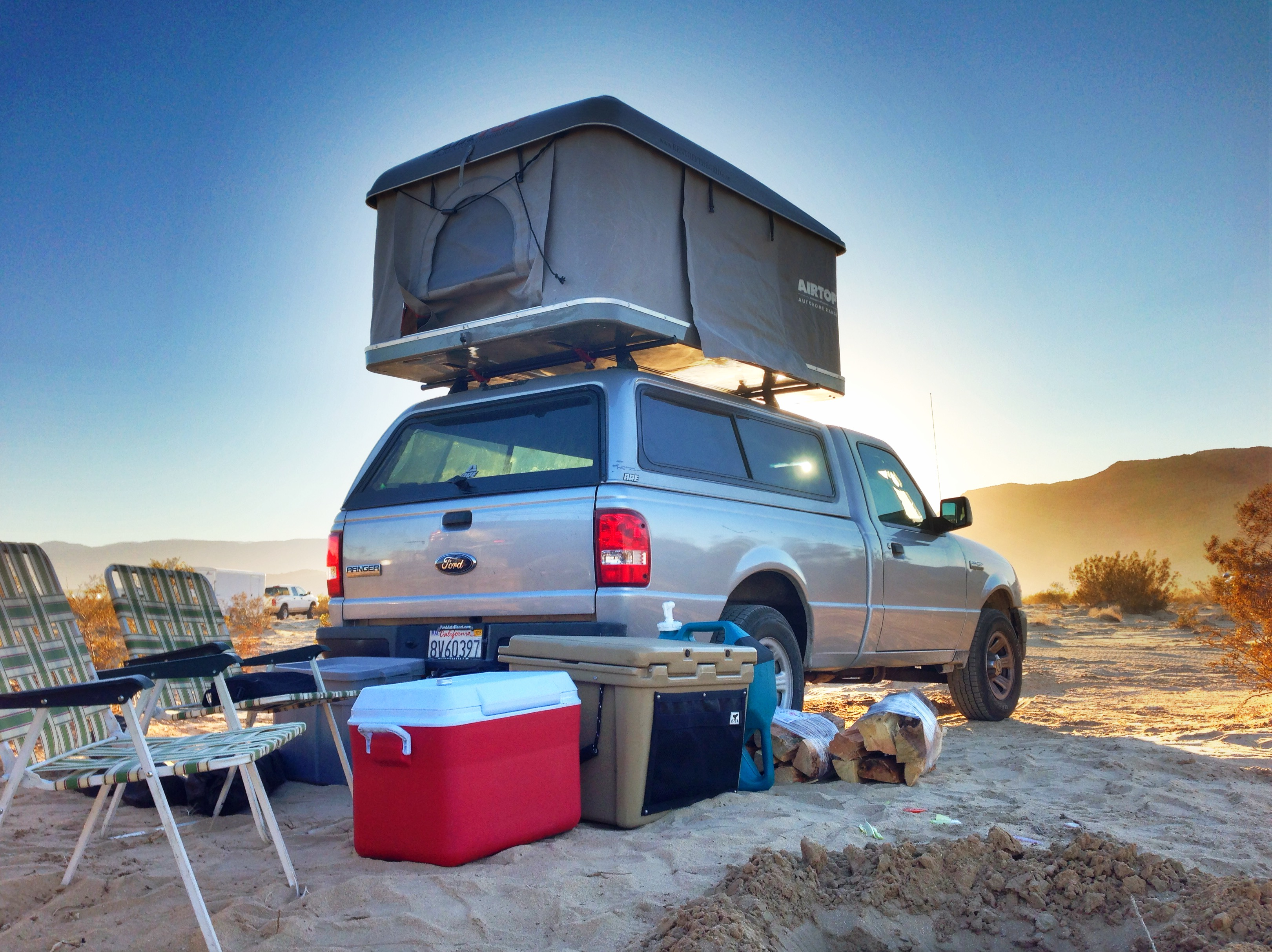 Roof Top Tent Features Off The Grid Rentals
