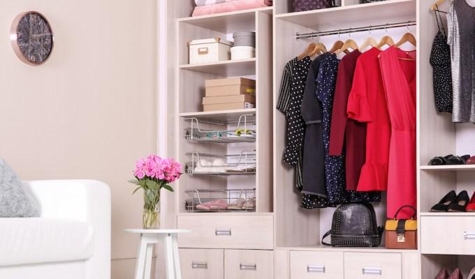 wardrobe organising Ideas