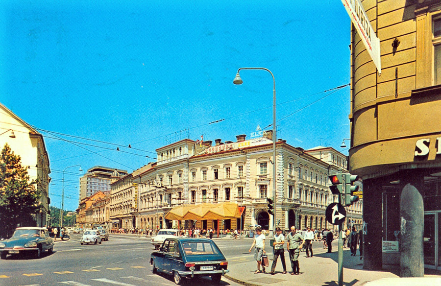 1960s - Kavarna Evropa