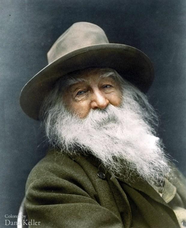 Walt Whitman, 1887 (foto: klassixx/Reddit)