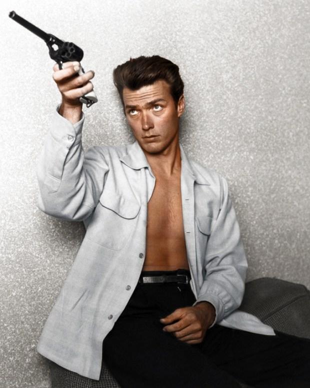 Mladi Clint Eastwood, šestdeseta (foto: Edvos/Reddit)