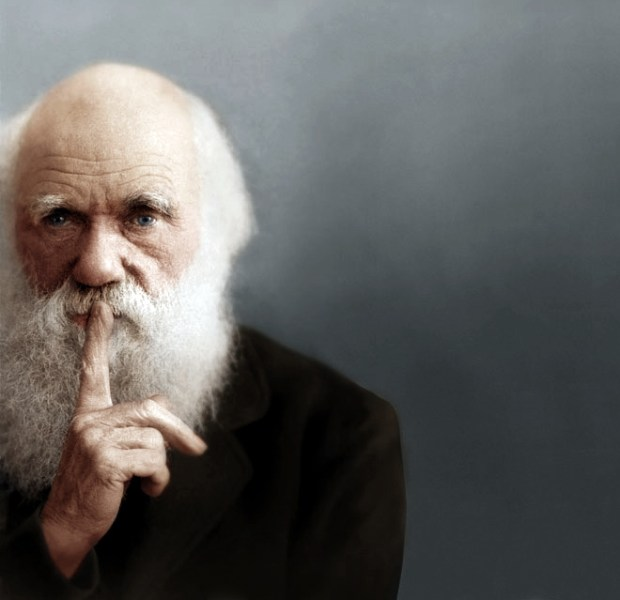 Charles Darwin (foto: zuzahin/Reddit)