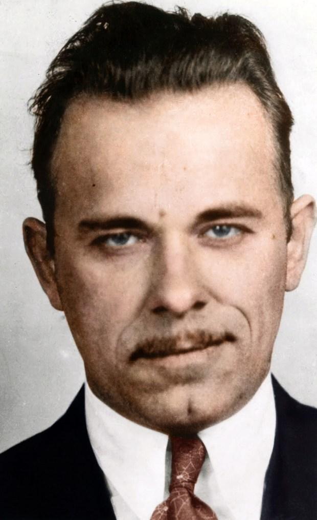 John Dilliner, ameriški ropar, 1934 (foto: Edvos/Reddit)