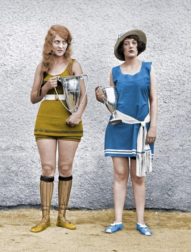 Lepotno tekmovanje v Washingtonu, 1922 (foto: Shorpy)