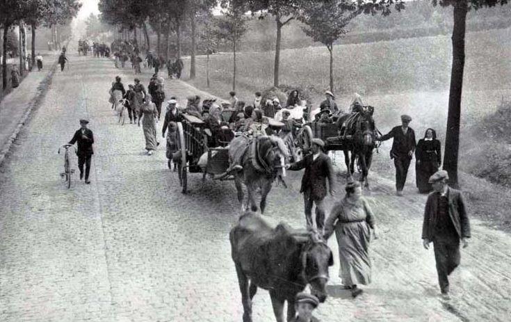 Begunci med prvo svetovno vojno