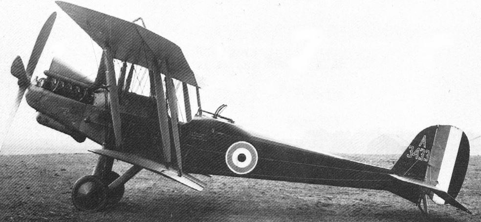 Britansko bojno letalo