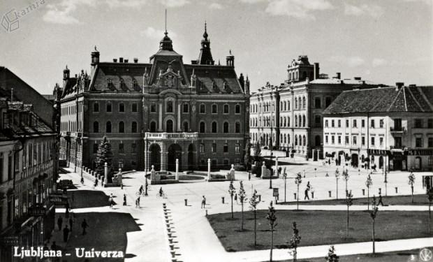 1932 - Kongresni trg in stavba Univerze