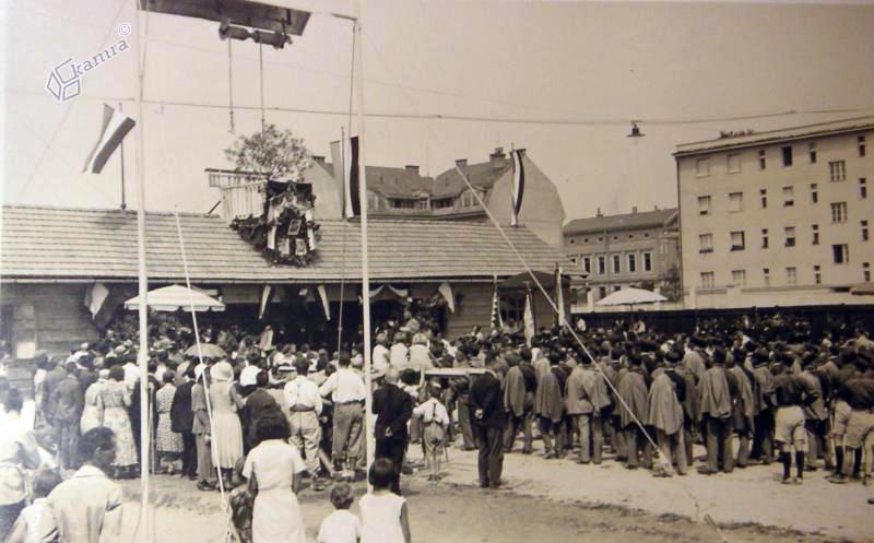 1932 - otvoritev sokolskega društva za Bežigradom