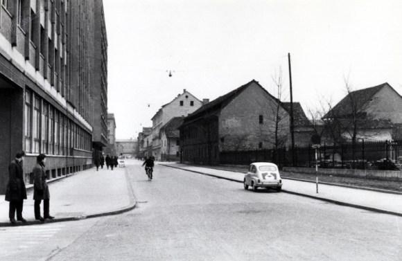 1959 - Kolodvorska ulica, na levi Radio Slovenija