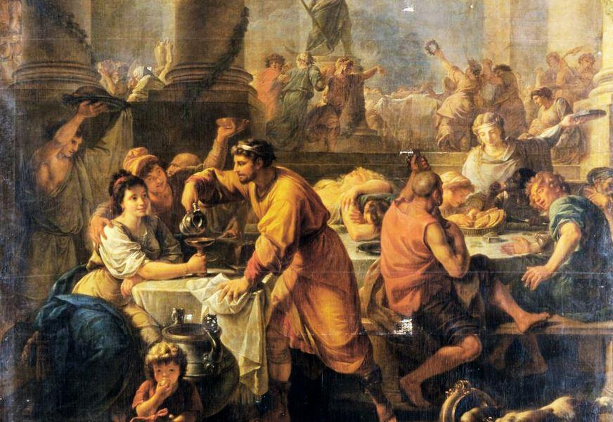 Saturnalije, praznik pijančevanja in obdarovanja