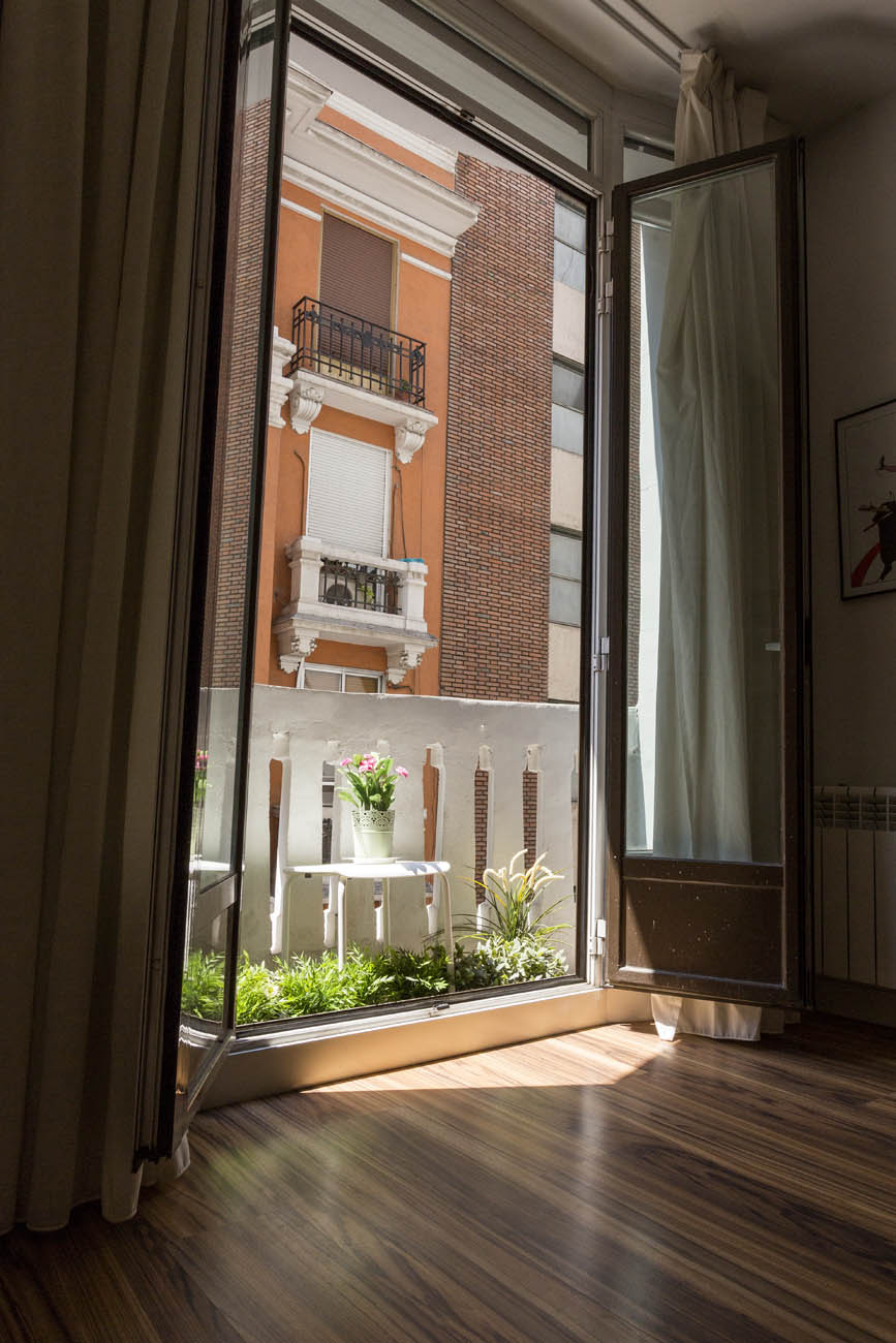 apartment with terrace madrid