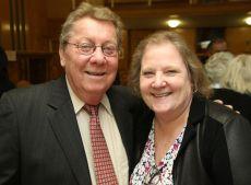 Steve Sage of Litchfield and Kim McLeod of Torrington. John McKenna Photo
