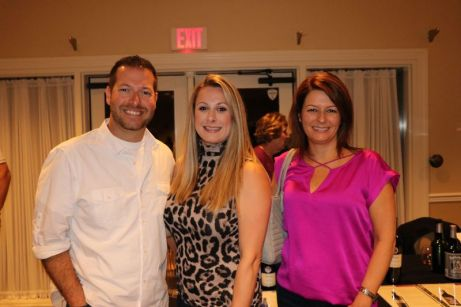From left, Aaron Molitor, Stephanie Novajasky and Michele Molitor