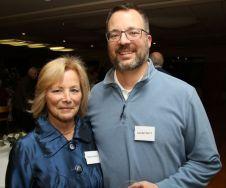 Denise Merz of Litchfield and her son, Colin Pratt of New Hartford. John McKenna Photo