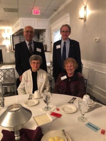 President Linda Osterman-Hamid of Woodbury and Memer-at-Large Dave Sonnemann of Southbury