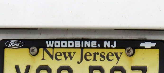 Out of state license plates in Waterbury Monday. Waterbury Board of Aldermen is considering $250 fines against city residents who register their vehicles out of state to avoid paying local car taxes. Steven Valenti Republican-American
