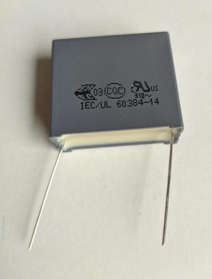 Condensateur 2,2uf vue générale