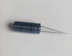 Condensateur chimique 3300uf 10v