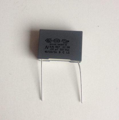 Condensateur x2 0.68uf 275v 310v
