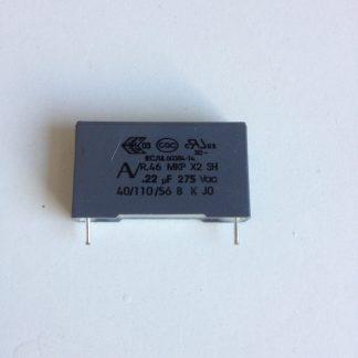 Condensateur polypropylène 220nf 275v
