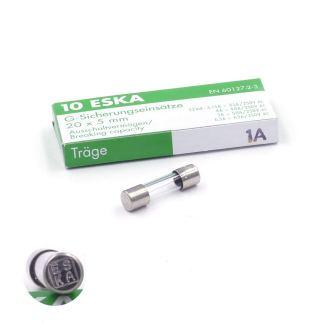 Boite de 10 fusibles t1a