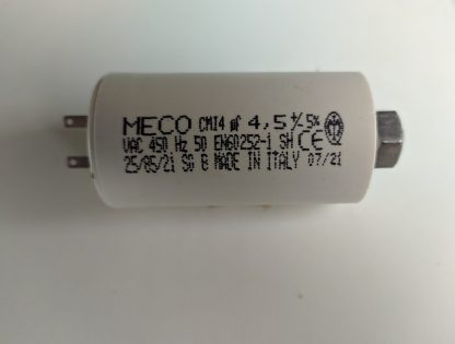 Condensateur 4.5µf a petites cosses