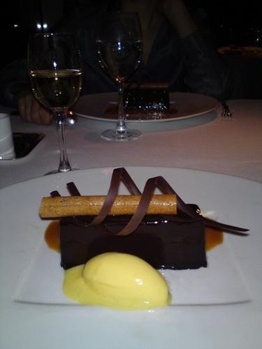 Dessert au chocolat - Jade on 36