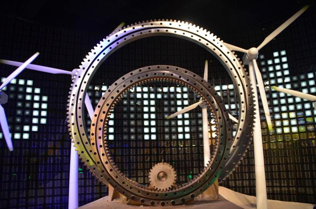 Pavillon Chine - éoliennes