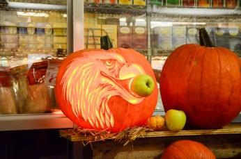 Citrouille décorée