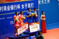 Tang Jinhua et Zhong Qianxin vainqueur du WD contre Bao Yixin et Tang Yuanting