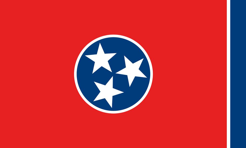 The Tennessee flag. (Nemo via Pixabay)