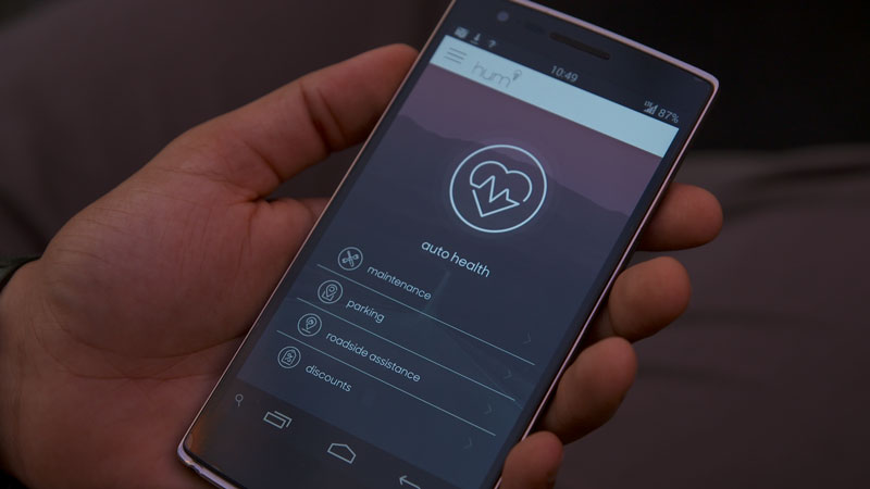 "Verizon's OnStar and AAA competitor ""hum"" has hit the market, offering drivers a chance for help during a breakdown or crash and actively scanning the vehicle for diagnostic codes. (Provided by Verizon)"
