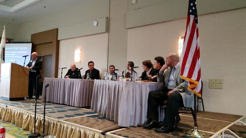 The parts procurement panel Jan. 14, 2016, at CIC. (John Huetter/Repairer Driven News)