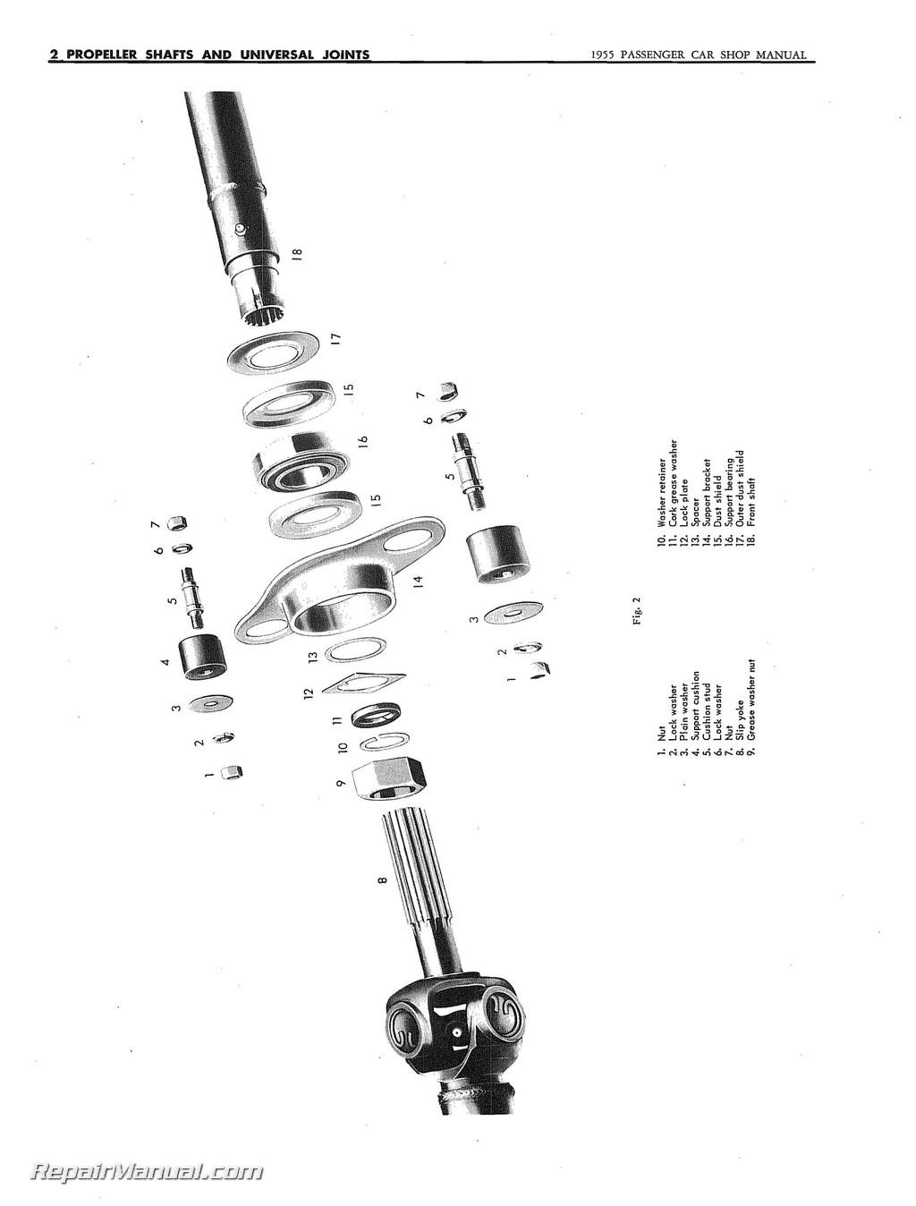 Studebaker Car Shop Manual 16g6 16g8 6h