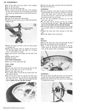19711981 Kawasaki G5 KE100 Motorcycle Service Manual | eBay