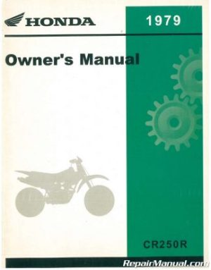 1979 Kawasaki KZ650D2 SR Series Motorcycle Owners Manual