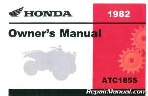 1982 Honda ATC185 ATV Owners Manual : 3195802 | eBay