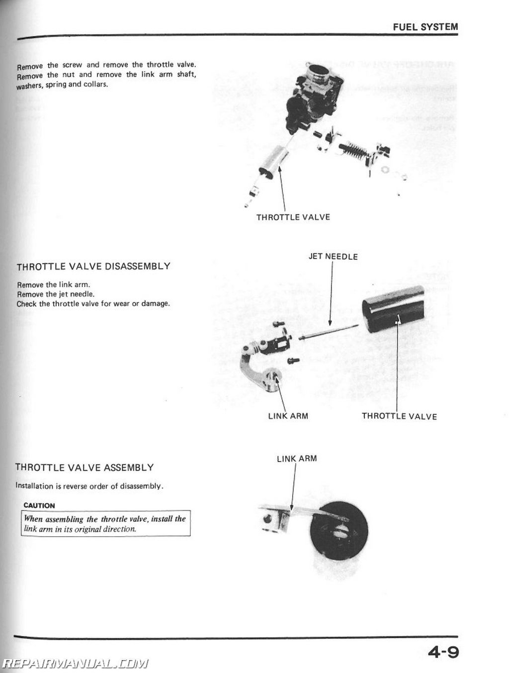 Honda Xl600r Service Manual