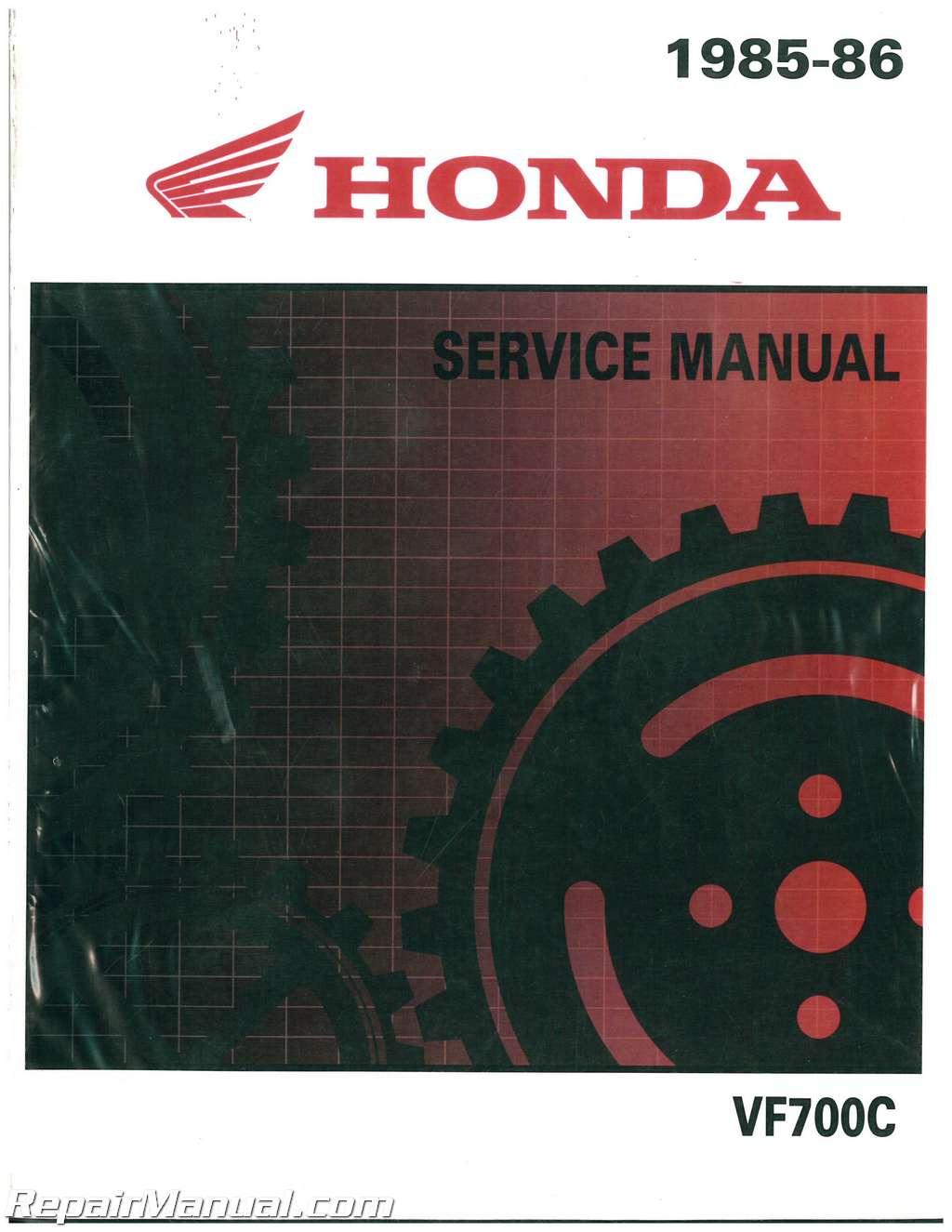 Honda Parts 700 1985 Magna