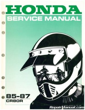 Used 1980 Kawasaki KDX80 Motorcycle Owners Service Manual