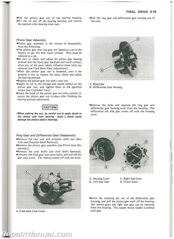 Kawasaki Bayou 300 Service Manual
