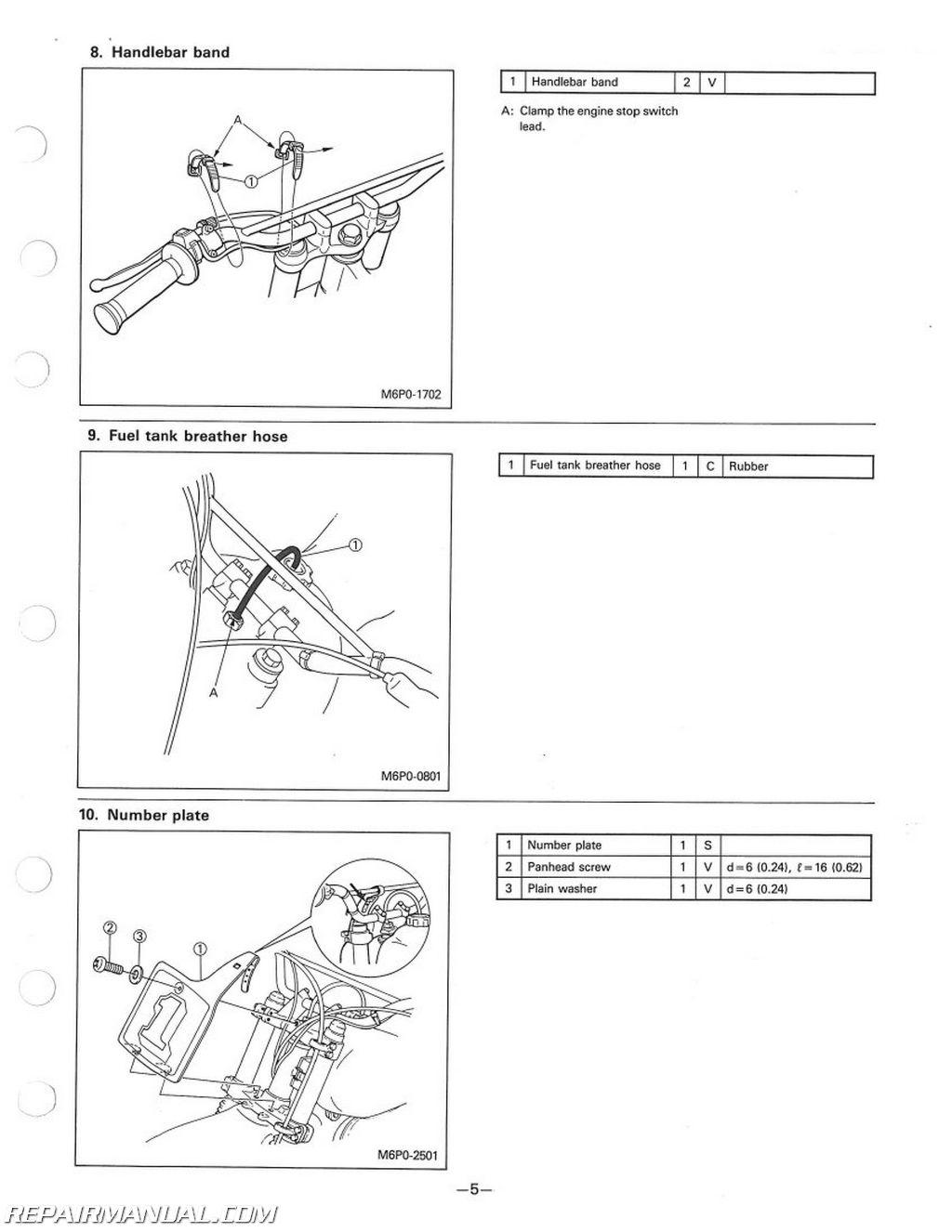 1986 Yamaha Yz125 Wiring Diagram | Wiring Diagram Database on