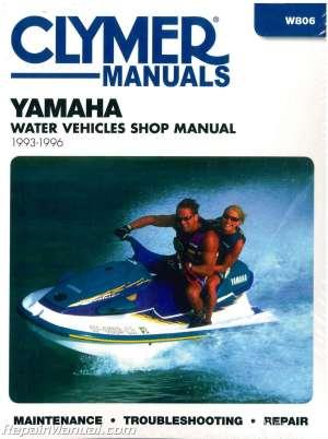 19931996 Yamaha Waverunner Clymer Personal Watercraft