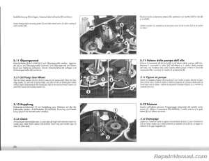 1995 KTM 400 620 LC4 Duke Motorcycle Engine Service Manual