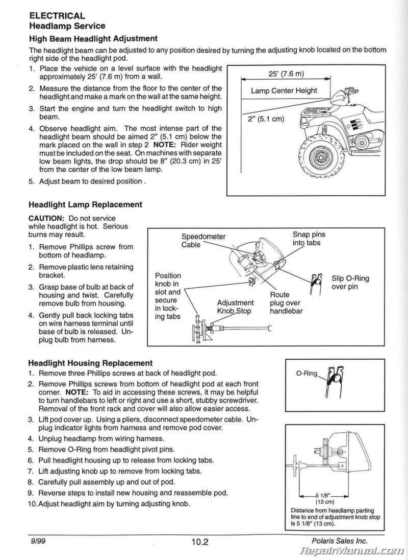 2002 polaris sportsman 500 parts manual