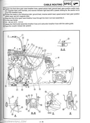 YFM660FA Grizzly 660 Yamaha ATV Service Manual 20032008
