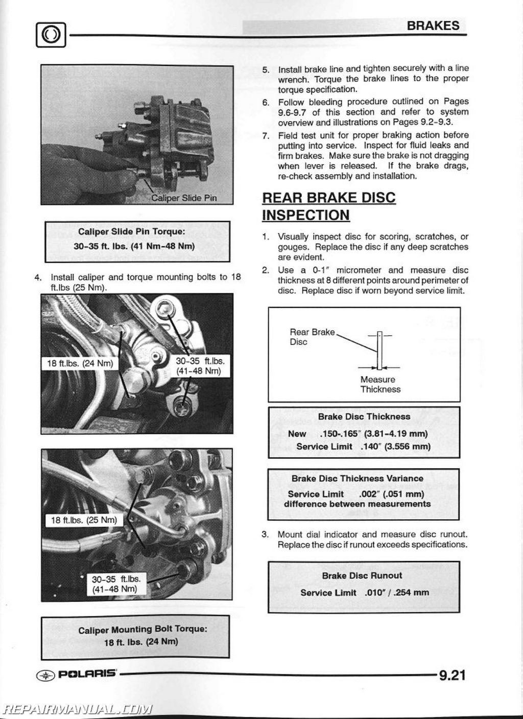 polaris sportsman 800 service manual