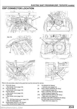 20072013 Honda TRX420FE FM TE TM FPE FPM ATV Rancher