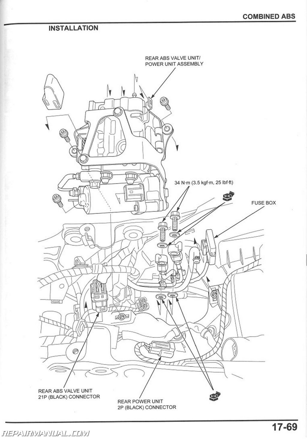 Honda Cbr Rr Motorcycle Service Manual 61mfl08