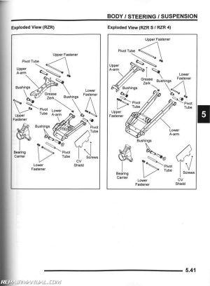20092010 Polaris Ranger RZR S 800 UTV Service Manual
